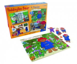 Paddington Bear 4 in 1 Puzzle