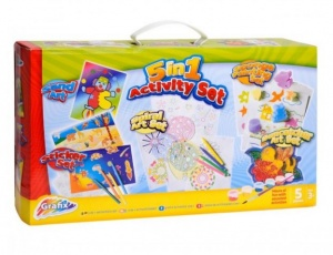 5 In 1 Activity Craft Set