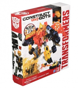 Transformers Age of Extinction Construct-Bots Dinobot Warriors 61Pcs