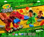 Create 2 Destroy Dino Destruction Kit-Metropolitan Mayhem