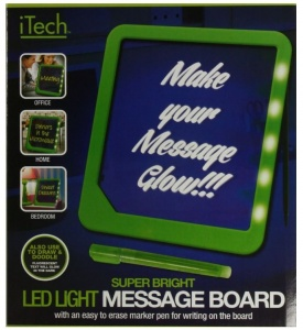 LED light up message Board