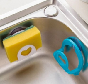 Suction Sink Sponge Holder