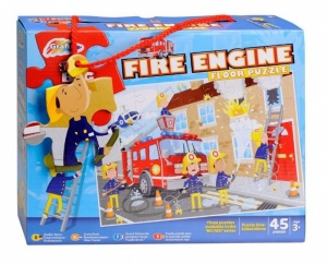 Fire Engine Floor Puzzle