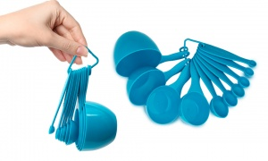 10PC Measuring Spoons & Cups