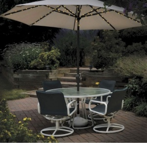 72pcs LED Solar Parasol Lights