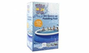 10ft Quick-up Paddling Pool With 300GPH Pump