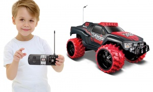 Tobar 1:16 Scale Vudoo with Large Off-Road Tires Remote Control Car