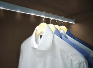 Jocca LED Wardrobe Rail with Motion Sensor