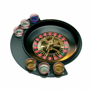 Premier Roulette 6 Glass Lucky Shot Drinking Game