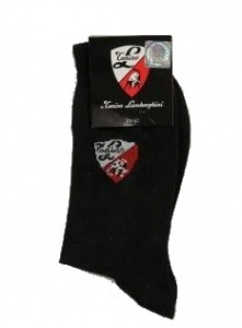 Lamborghini Black Mens Socks