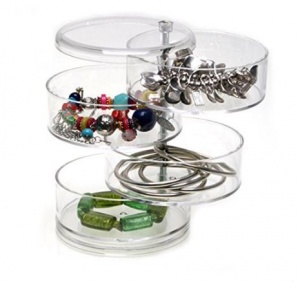Glam 4 layer Swivel Jewellery Box