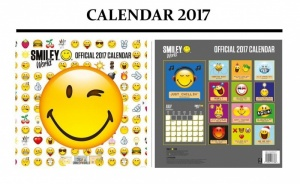Smiley World 2017 Calendar
