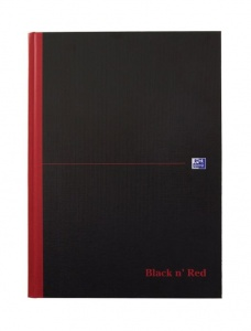 Black n Red A4 Professional Notebook