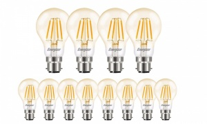 Energizer Filament Gold LED Bulbs