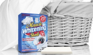 20 Sheets of Miracle White Clothes Booster