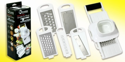 MetalTex Multi Purpose Grater and Slicer