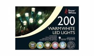 200 LED FAIRY LIGHTS - MULTI FUNCTION