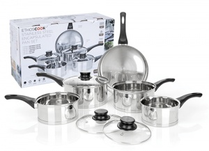 Ethoscook 5 Piece Saucepan Set