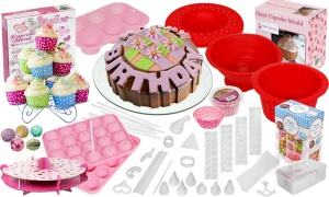 Deluxe 207 Piece Cupcake Decorating Kit