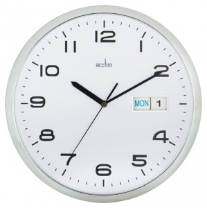 acctim day and date wall clock