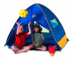 Discovery Adventures Family Play Sun Shade Pop-Up Beach Tent