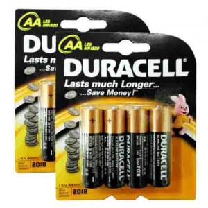 Duracell Base AA Batteries - Pack of 8