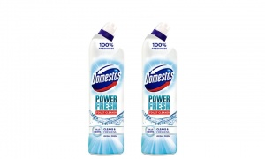 Domestos Power Fresh Ocean Antibacterial Toilet Cleaner 700ml Pack of 2