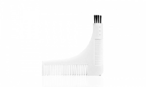 PMS 3 in 1 Beard Shaper Comb And Brush
