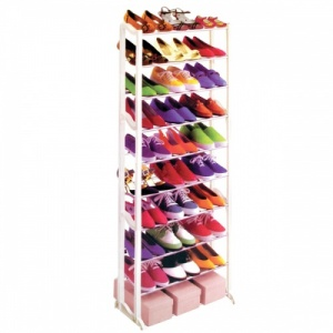 30 Pair Shoe Rack Stand  - 10 Tier Storage