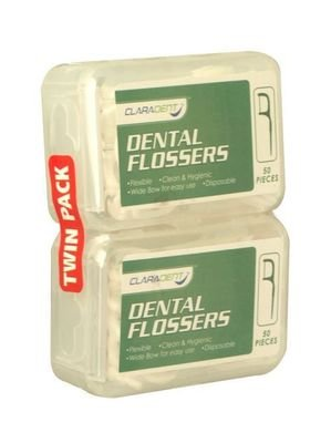 Pack of 2 Claradent Dental Flossers