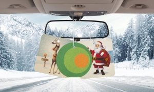 Pongo Christmas Air Fresheners Assorted Designs Pack of 3