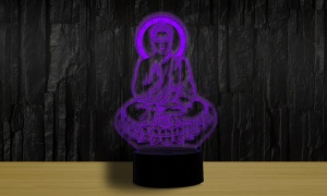 Colour Changing 3D BUDDHA Night Light
