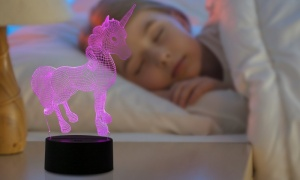 Unicorn - Colour Changing 3D Night Light