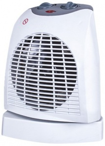 SilentNight Oscillating 2Kw Fan Heater
