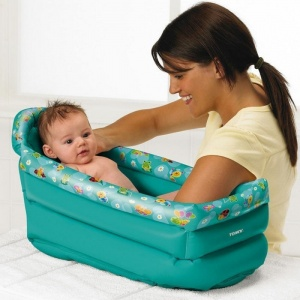 Tomy Be Baby Inflatable Bath (71726-04719)