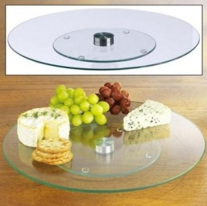 360 rotating serving plate