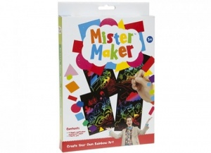 Mister Maker Make Your Own Scratch Art