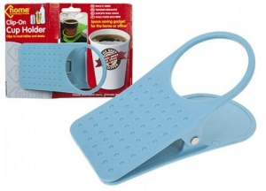 Clip on Cup Holder (839032) 3 Assorted Colours