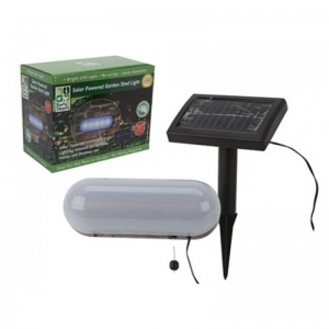 Solar Powered Garden Shed Light (957004)