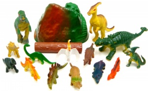 Dinosaurs Set- 18pcs (TY660 4309)