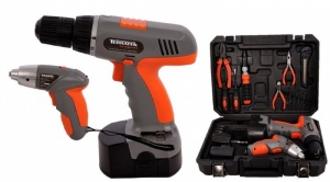 12V Cordless Power Drill 3.6V Cordless Screwdriver 20pc Piece kit set