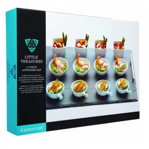 Kitchen Craft 13pc Slate Appetiser Set