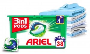 Ariel 3in1 Pods Washing Capsules 38W