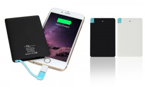 FX PowerBank 2000mAh Credit Card