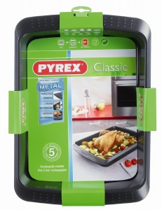 Pyrex Classic Oven Tray & Roaster Twin Pack