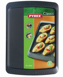 Pyrex Classic Muffin Tray & Oven Tray Twin Pack