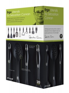 Sebastian Conran 10 Piece Ergo Kitchen Tool Set