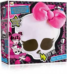 Monster High Skullette Secret Diary