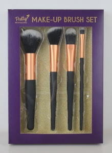 Pretty  Pretty  MakeUp Gifts SET OF 4 MAKE UP BRUSHES