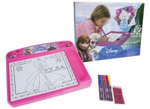 Disney Frozen Drawing Desk Set